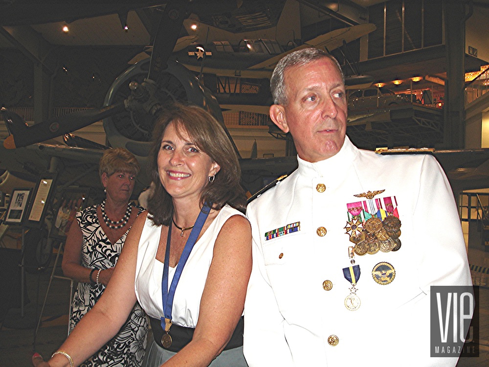 vie magazine people and places pensacola events naval gary jones