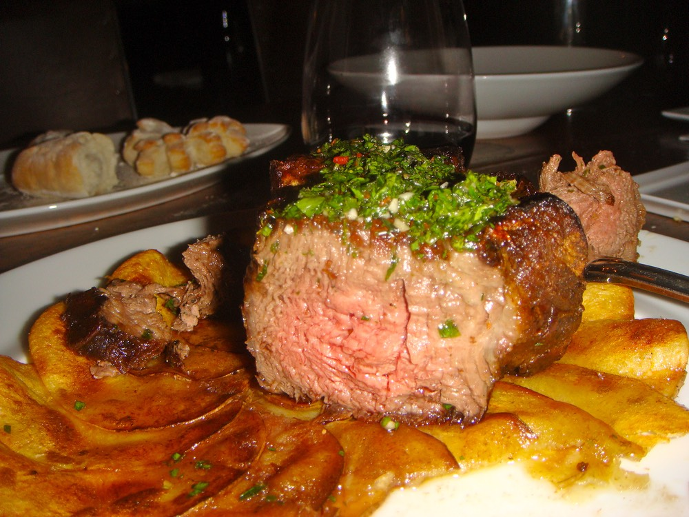 argentina, sweetbread, dinner punta del este argentina food steak