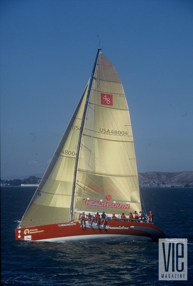 A Champion Among Champions Racing Sloop boat