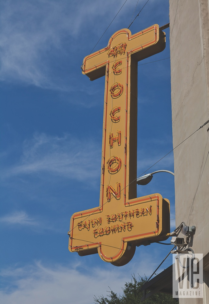 New Orleans Revived signage cochon