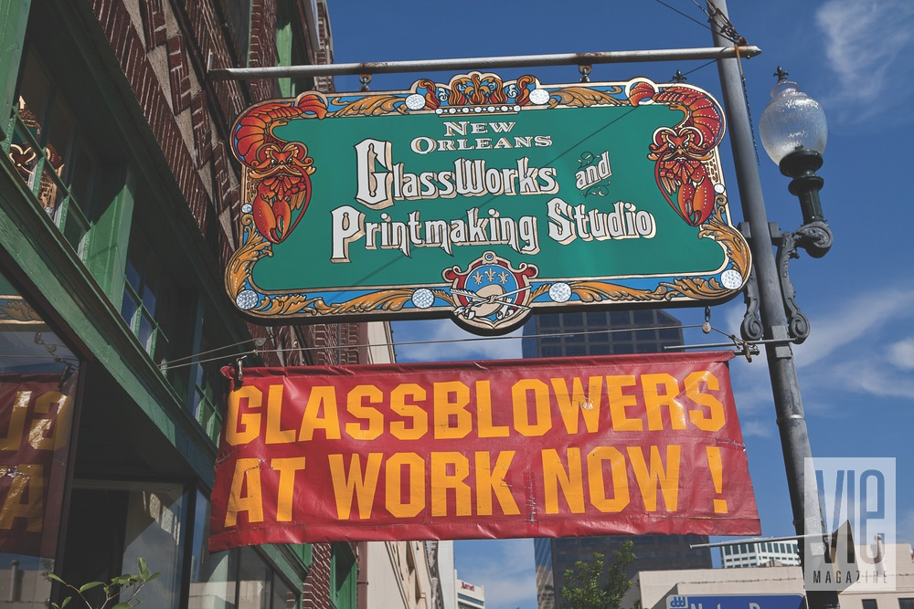 New Orleans Revived art glasswork printmaking