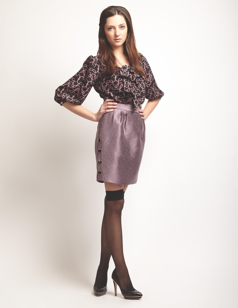 Lauren Leonard Leona Collection, Lavender Skirt