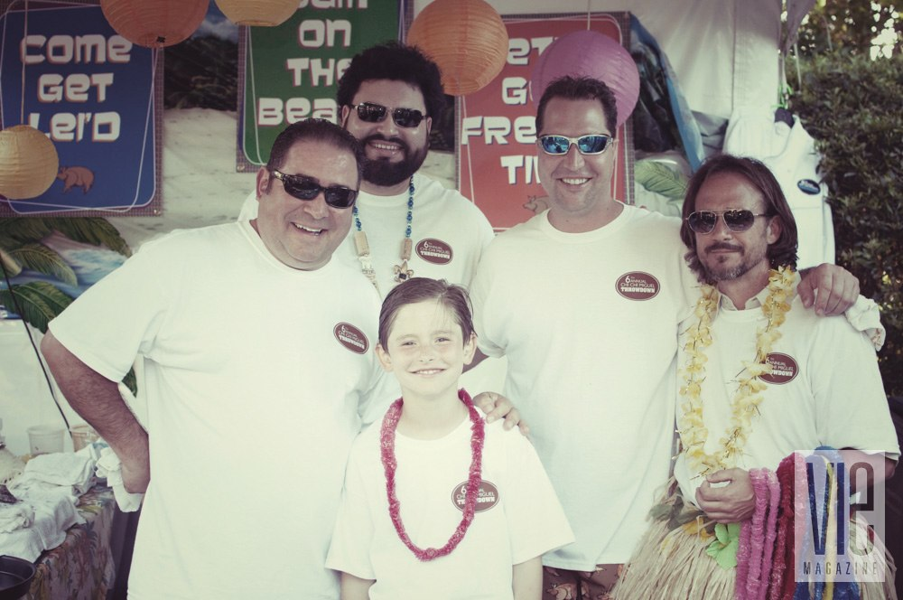 Vie Magazine Chi Chi Miguel Throws Down for Charity Emeril Lagasse and team the Herbert Brothers barbecue competition
