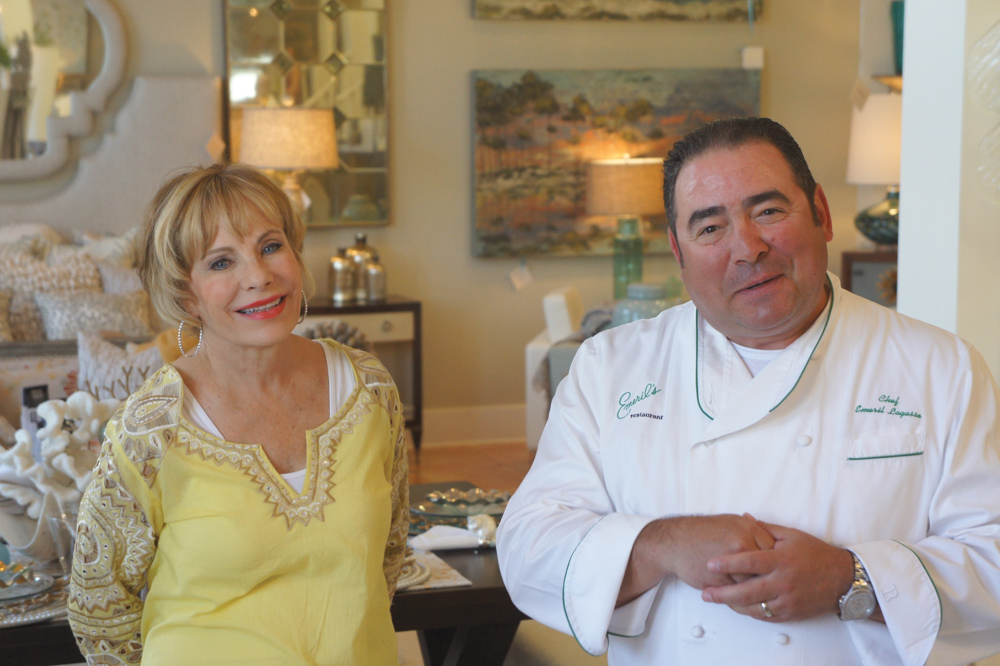 Vie Magazine Susan Lovelace and Emeril Lagasse
