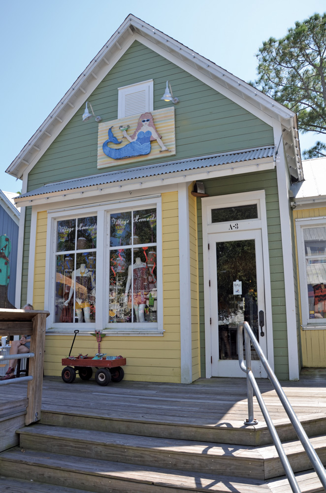 Destin Mermaids boutique, located in The Village of Baytowne Wharf.