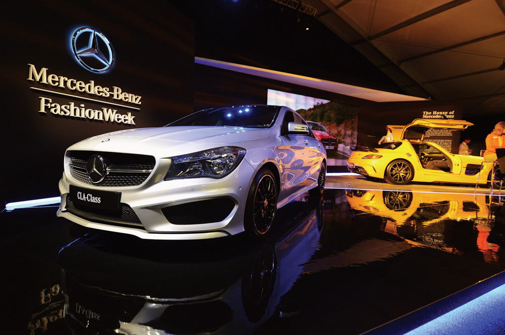 Mercedes-Benz Star Lounge during Fall 2013 Mercedes-Benz Fashion Week at Lincoln Center