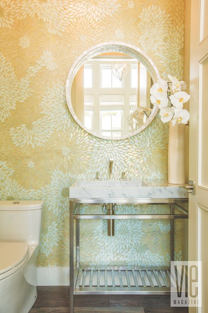 Vie Magazine Maison de Vie bathroom