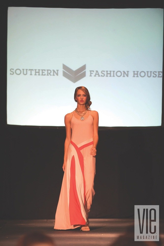 vie magazine south walton fashion week model on runway