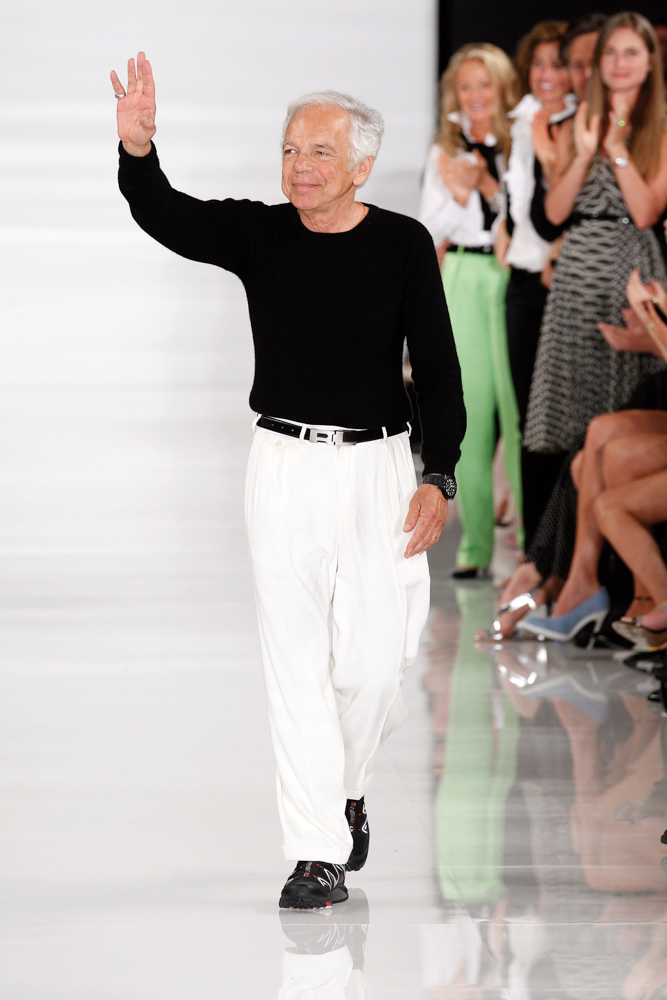 Vie Magazine Mercedes-Benz Fashion Week Designer Ralph Lauren
