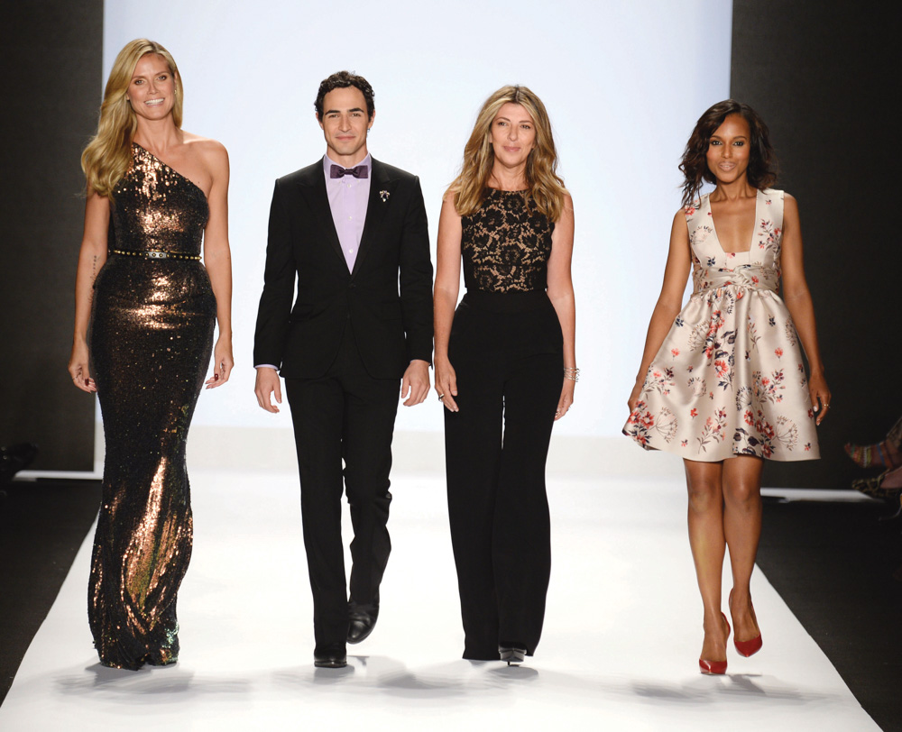 Vie Magazine Mercedes-Benz Fashion Week Project Runway Judges Klum Posen Garcia Washington