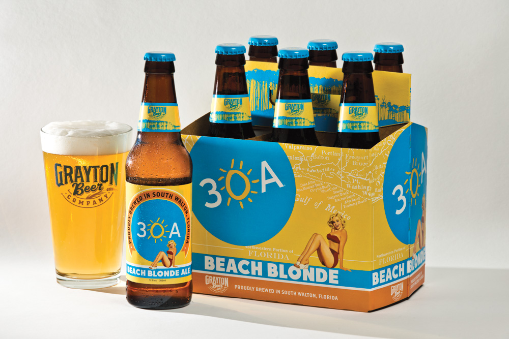 30A Beach Blonde Grayton Beer Company Walton County Cola to Cola Florida Gulf Coast