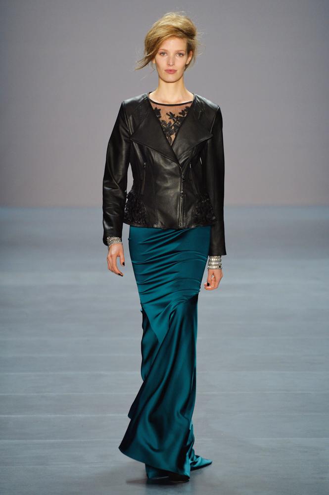 VIE Magazine takes on Berlin Mercedes-Benz Fashion Week Autumn/Winter 2014. Designer Marc Cain. Photo by Frazer Harrison