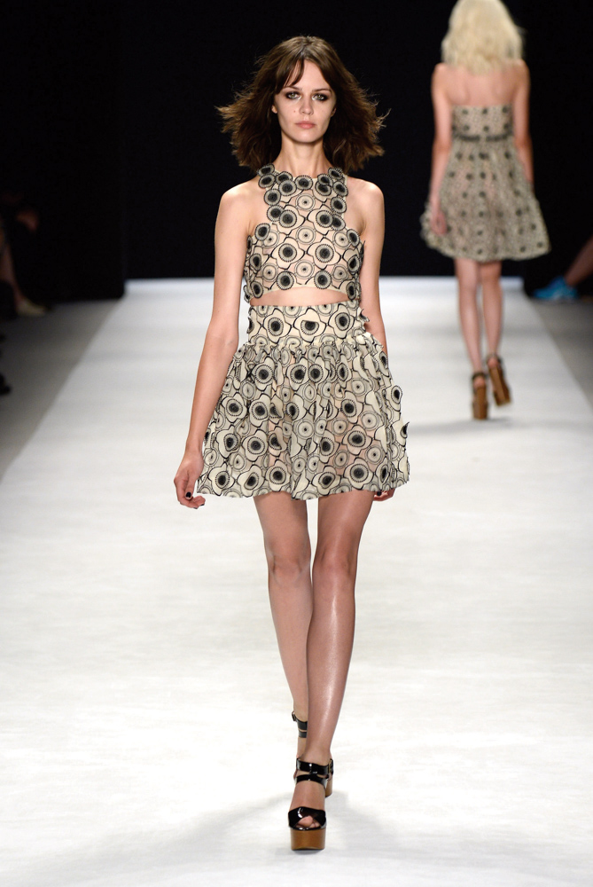 Spring 2014 Mercedes-Benz New York Fashion Week; Designer Jill Stuart; Photo by Frazer Harrison