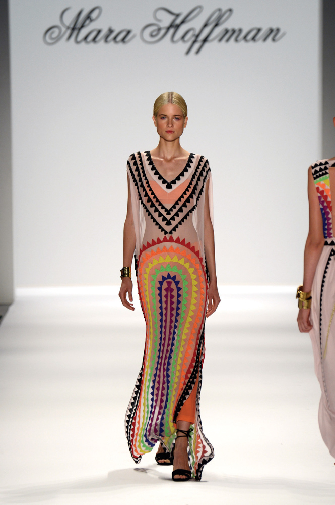Spring 2014 Mercedes-Benz New York Fashion Week; Designer Mara Hoffman; Photo by Frazer Harrison