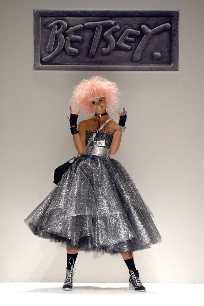 Spring 2014 Mercedes-Benz New York Fashion Week; Designer Betsey Johnson; Photo by Frazer Harrison