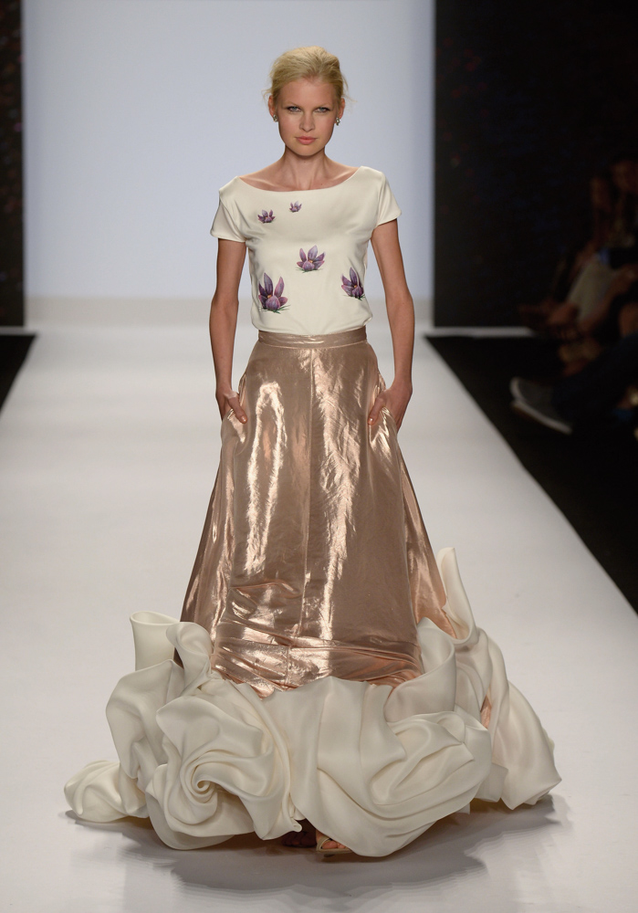 Spring 2014 Mercedes-Benz New York Fashion Week; Designer Project Runway; Photo by Frazer Harrison