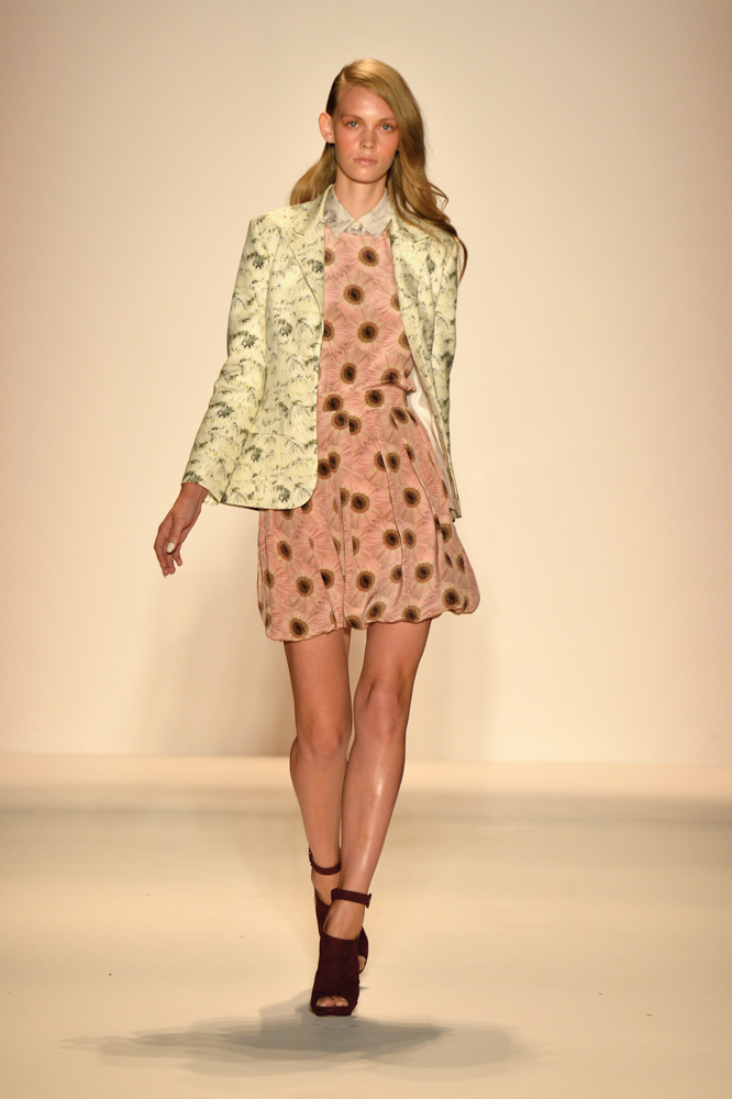 Spring 2014 Mercedes-Benz New York Fashion Week; Designer Noon By Noor; Photo by Frazer Harrison