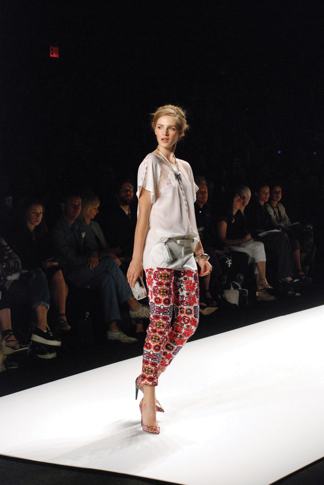 Spring 2014 Mercedes-Benz New York Fashion Week; Designer Rebecca Minkoff; Photo by Abigail Ryan