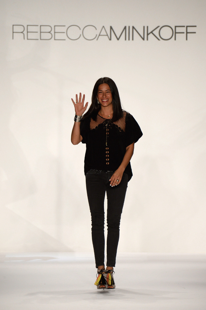 Spring 2014 Mercedes-Benz New York Fashion Week; Designer Rebecca Minkoff; Photo by Frazer Harrison