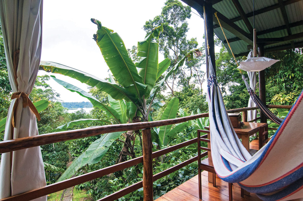 Panama Canal Ecotourism Dreamland Central America. La Loma Jungle Lodge and Chocolate Farm