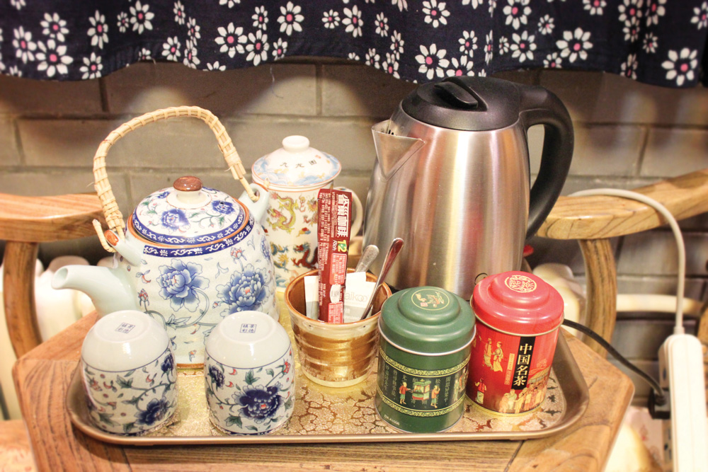 Chinese China Feast for the Senses Dim Sum Beijing Tradition Food In-room Jasmine tea service