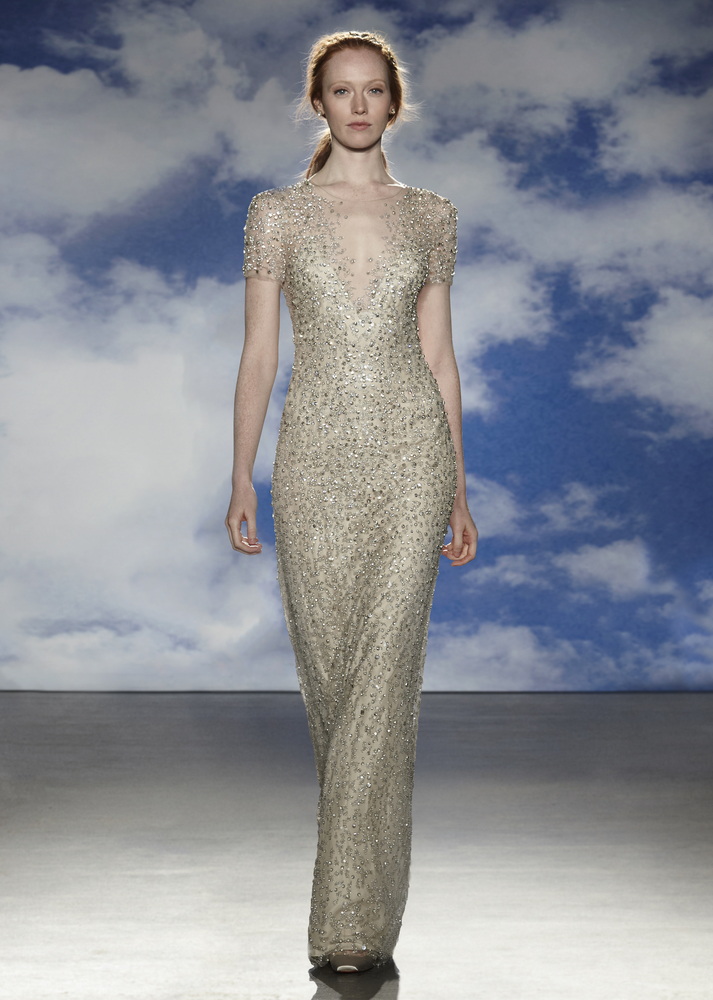 Model in MBFW Wedding Designs Jenny Packham