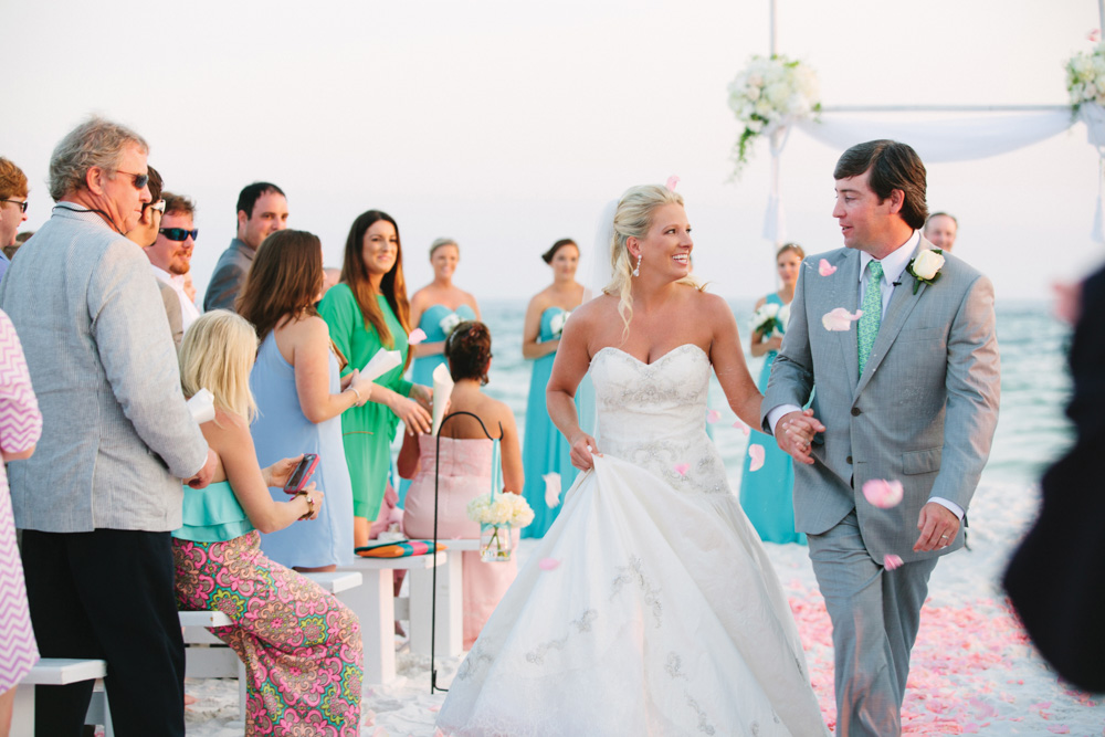 Kimberly and Clain Zimmerman beach wedding