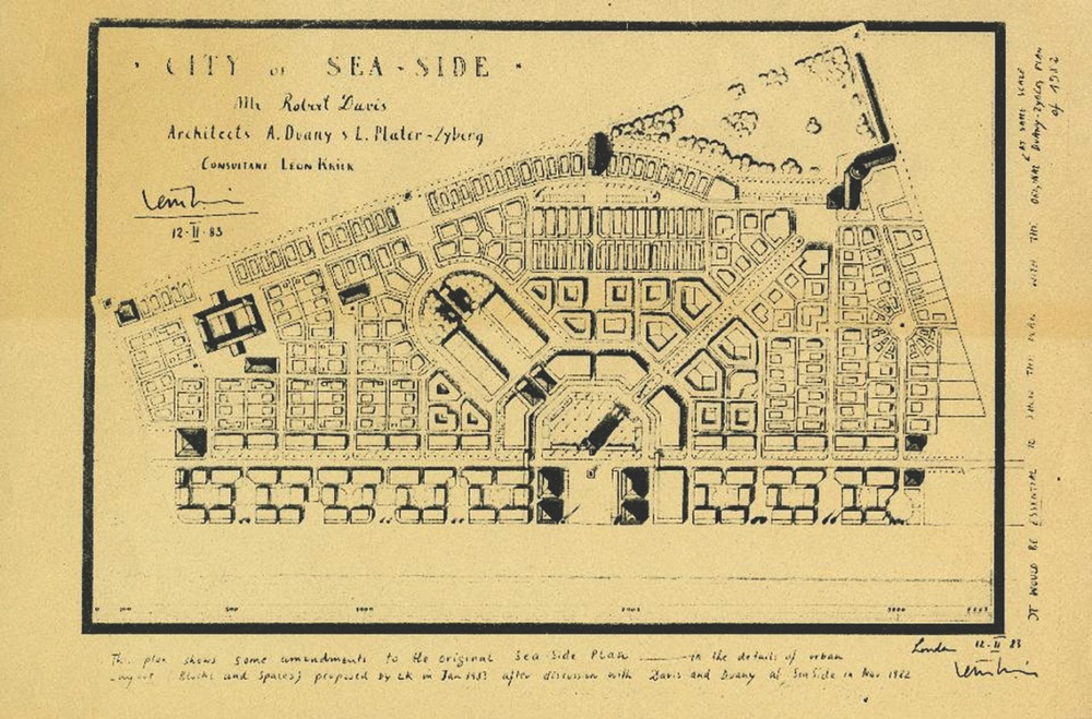 Vie Magazine Rediscovering America Old Seaside map