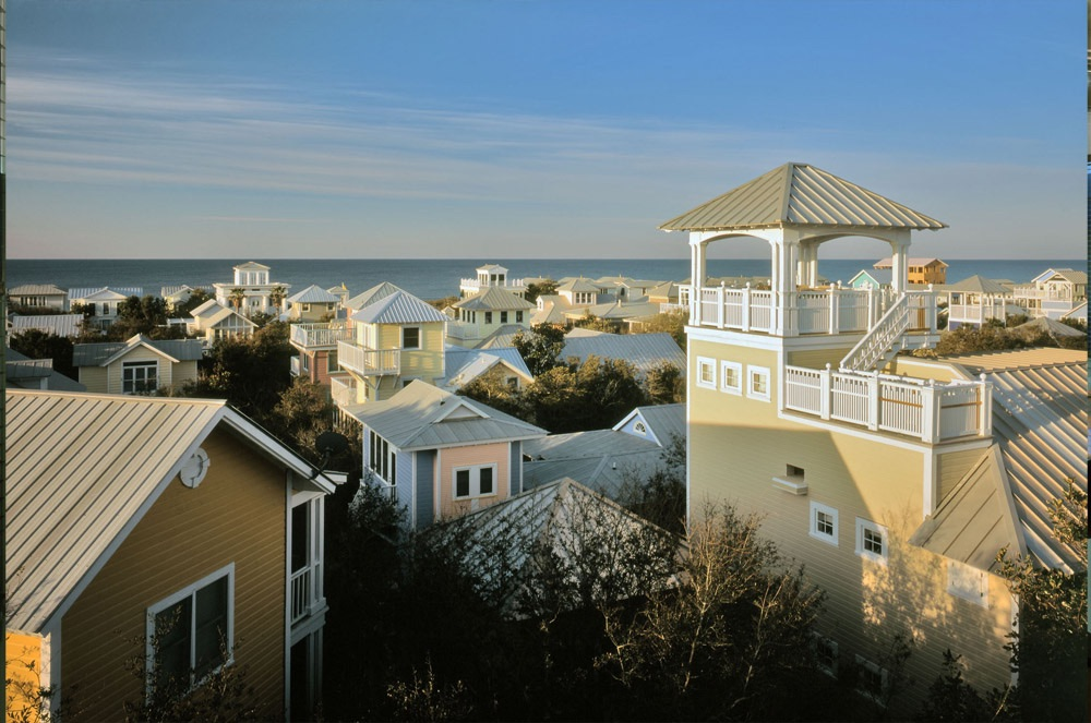 Vie Magazine Rediscovering America Seaside rooftop view