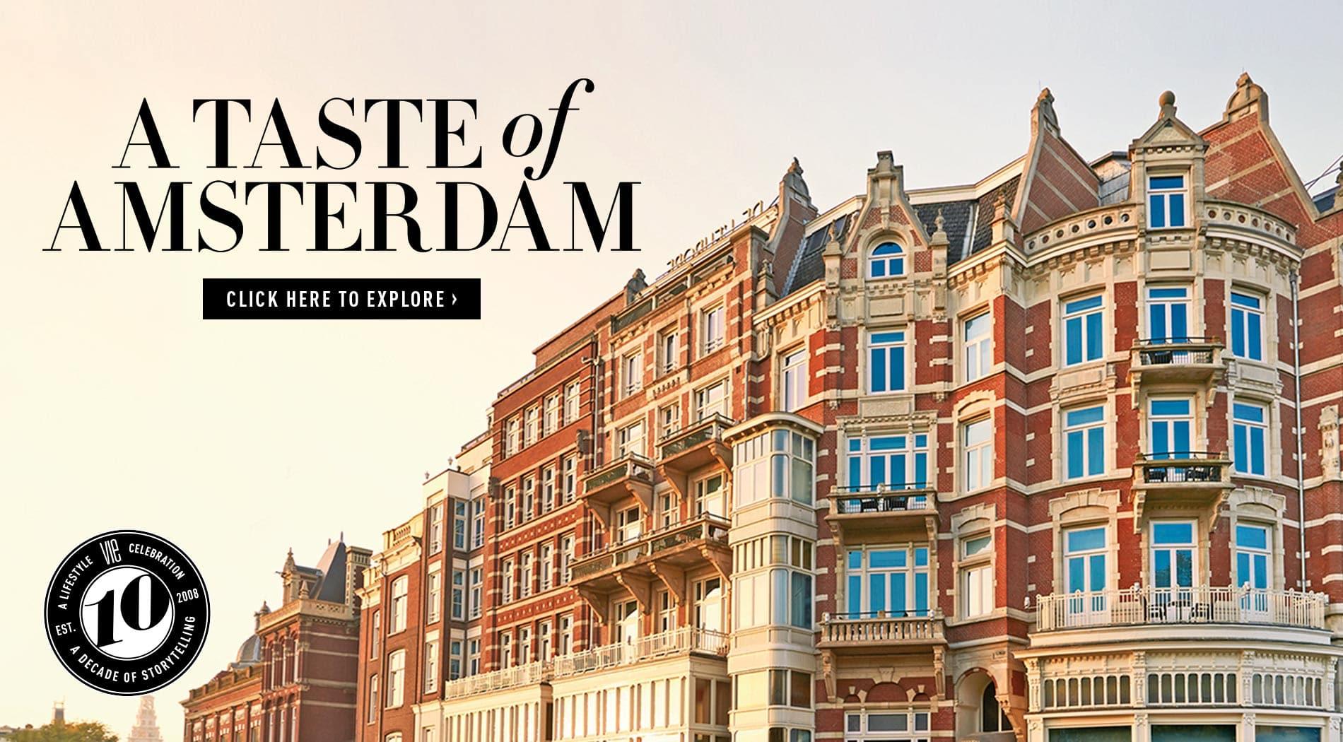 VIE Magazine, February 2018, Destination Travel Issue, A Taste of Amsterdam