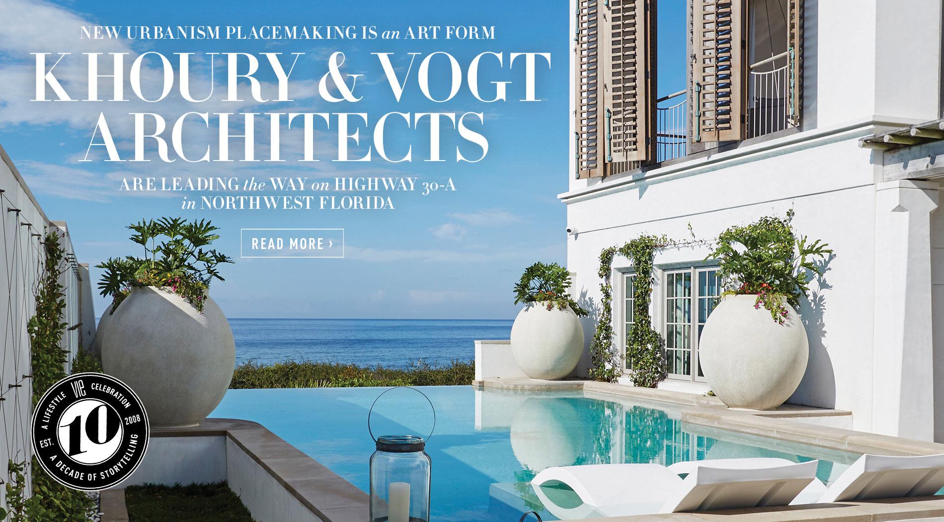 VIE Magazine - July 2018 Architecture & Design Issue - Khoury & Vogt Architects