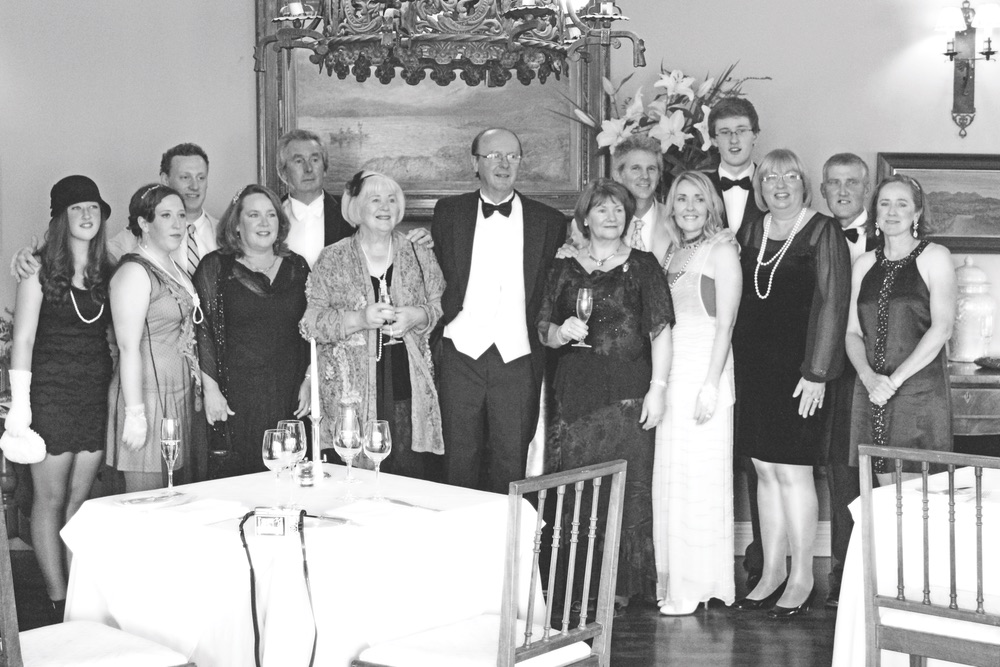 The Idea Boutique's Downton Abbey–themed dinner party at Ballynahinch Castle