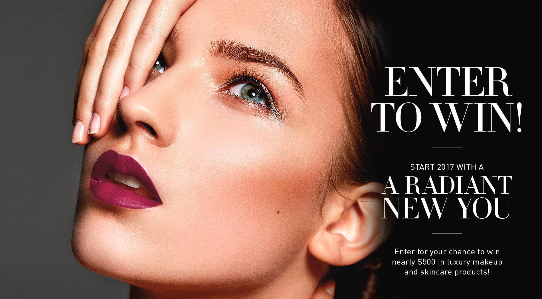 VIE Magazine Bruce Wayne Makeup Giveaway