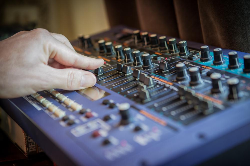 Composer James Kernick , Recording equipment