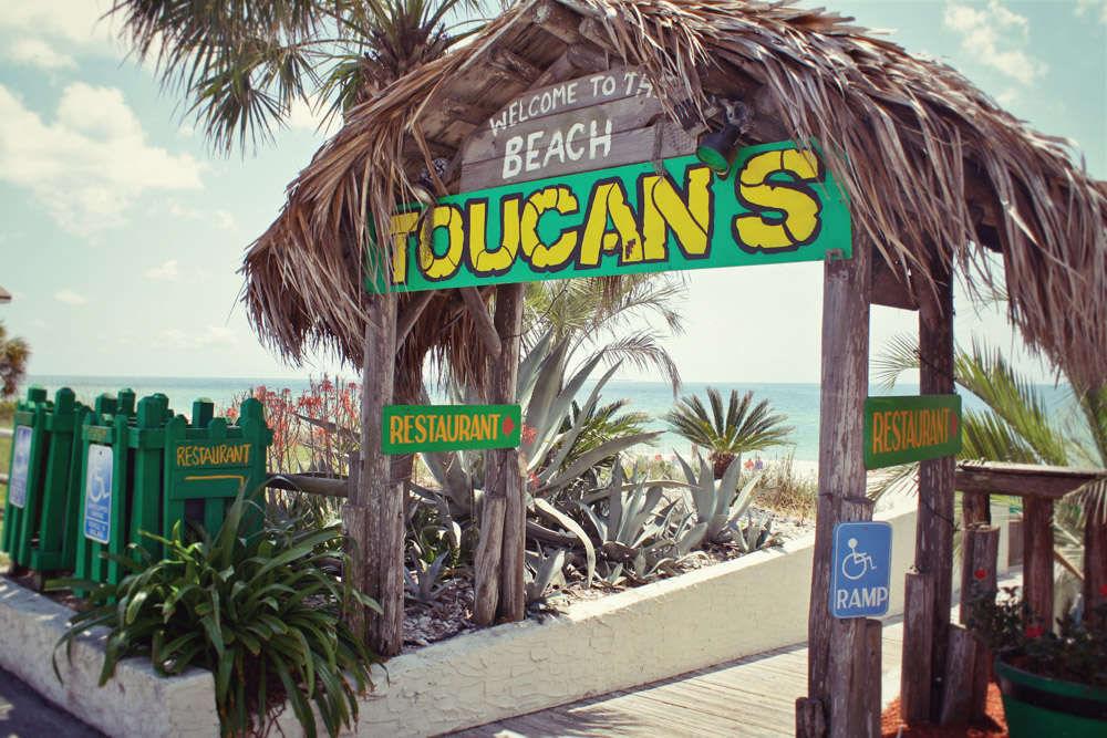 Mexico Beach Florida Toucan's restaurant