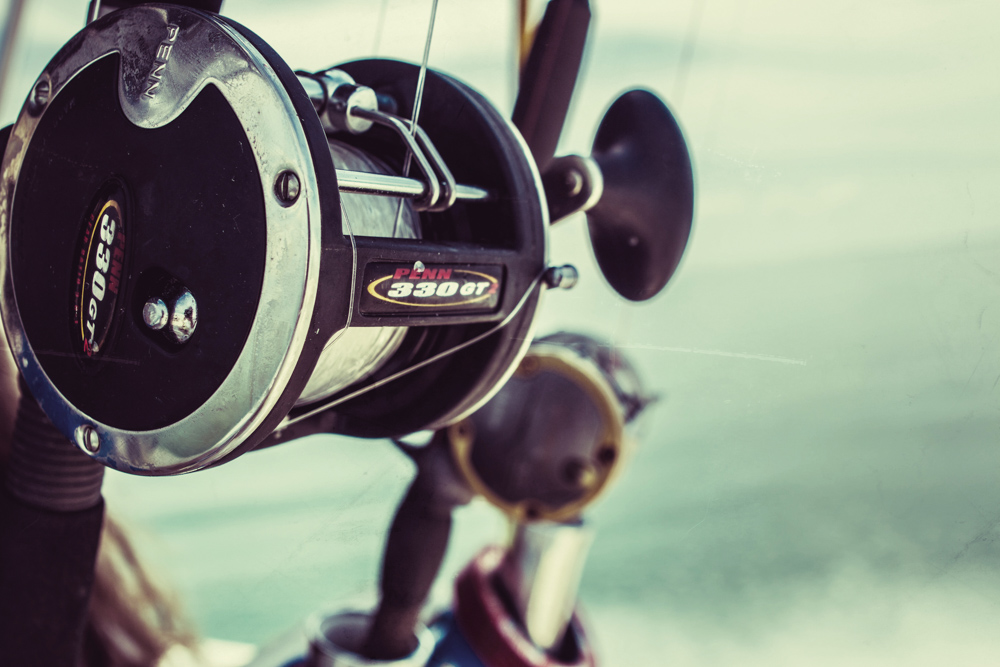 Mexico Beach fishing reel