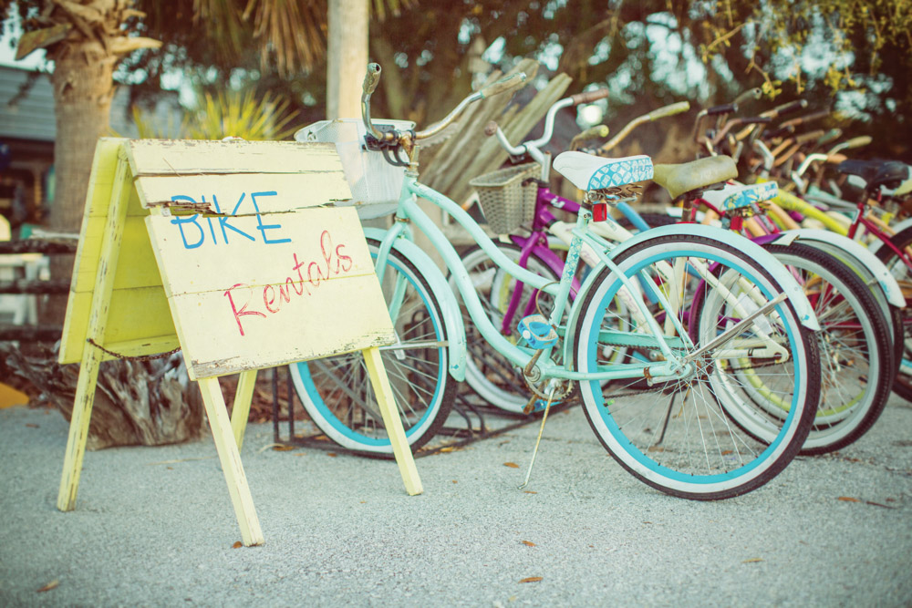 Mexico Beach bicycle rentals