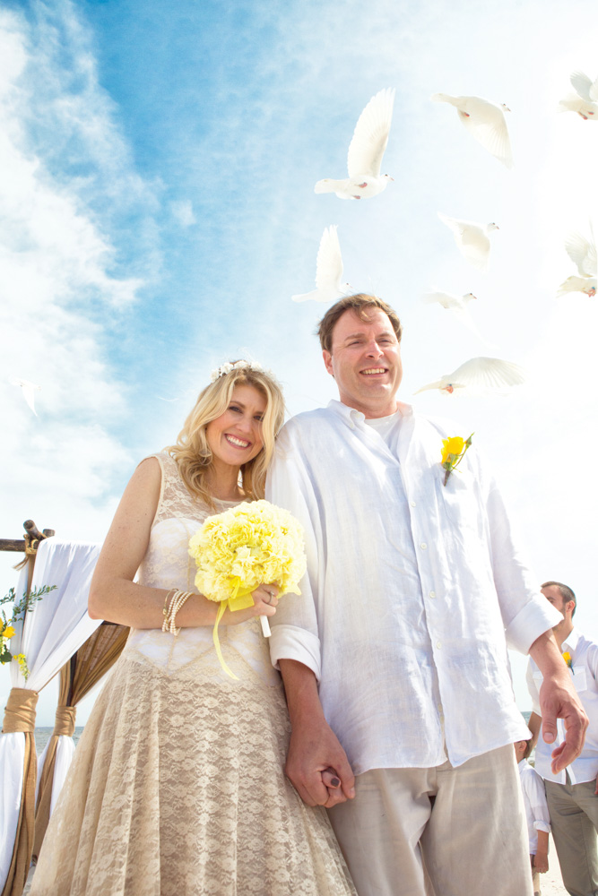 Mexico Beach Florida wedding