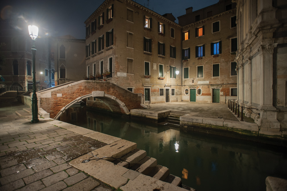 Campo Santa Maria Nova—the square, Venice, Italy.