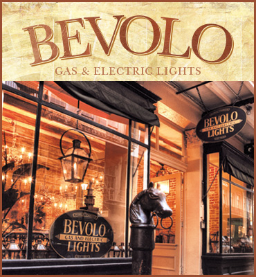 Bevel Gas and Electric Lights