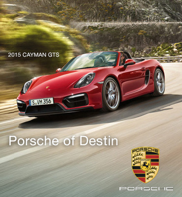 Porsche of Destin Sidebar Ad