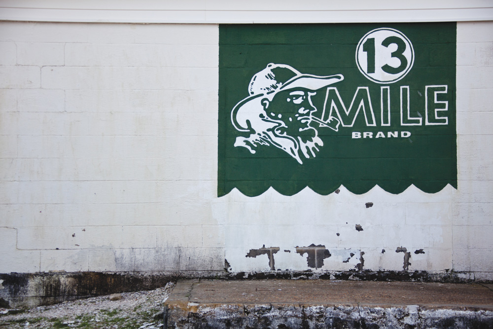 13 mile brand sign