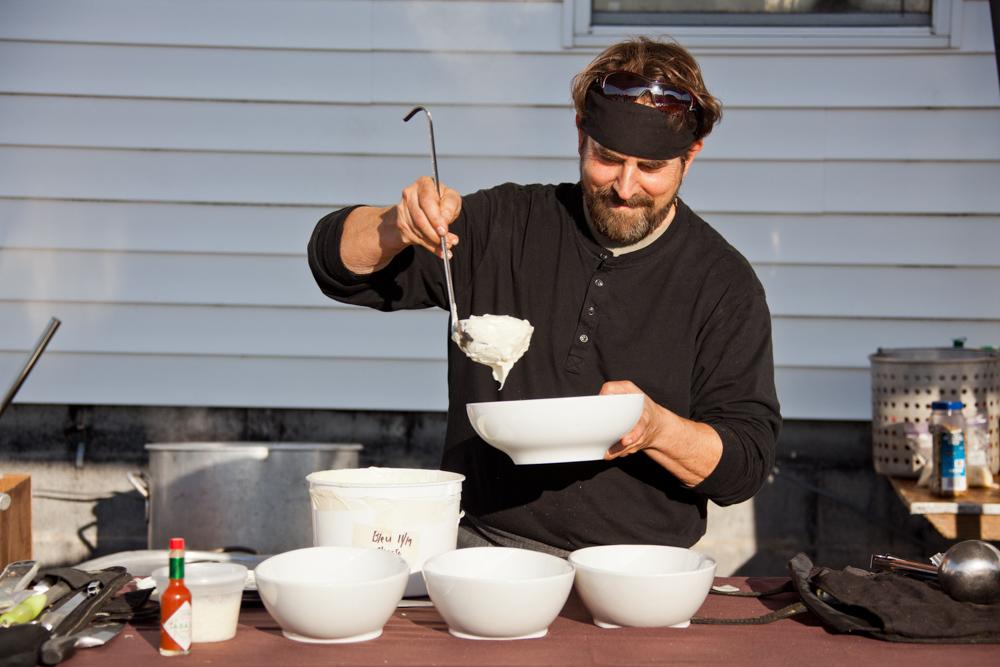 irv jackson prepares oysters 13 mile seafood apalachicola