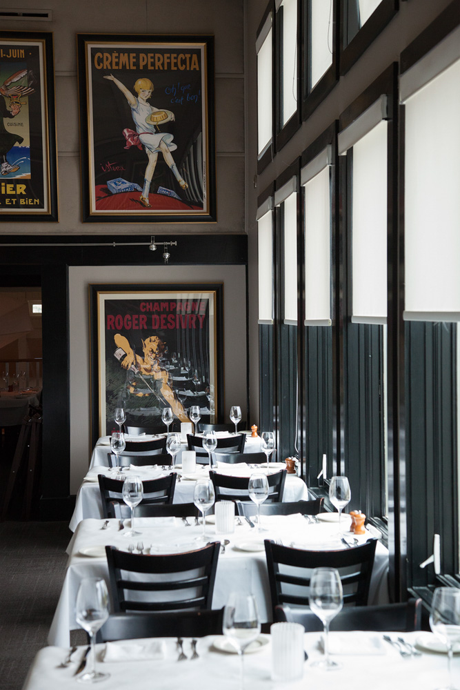 Inside Cafe thirty-a chic restaurant