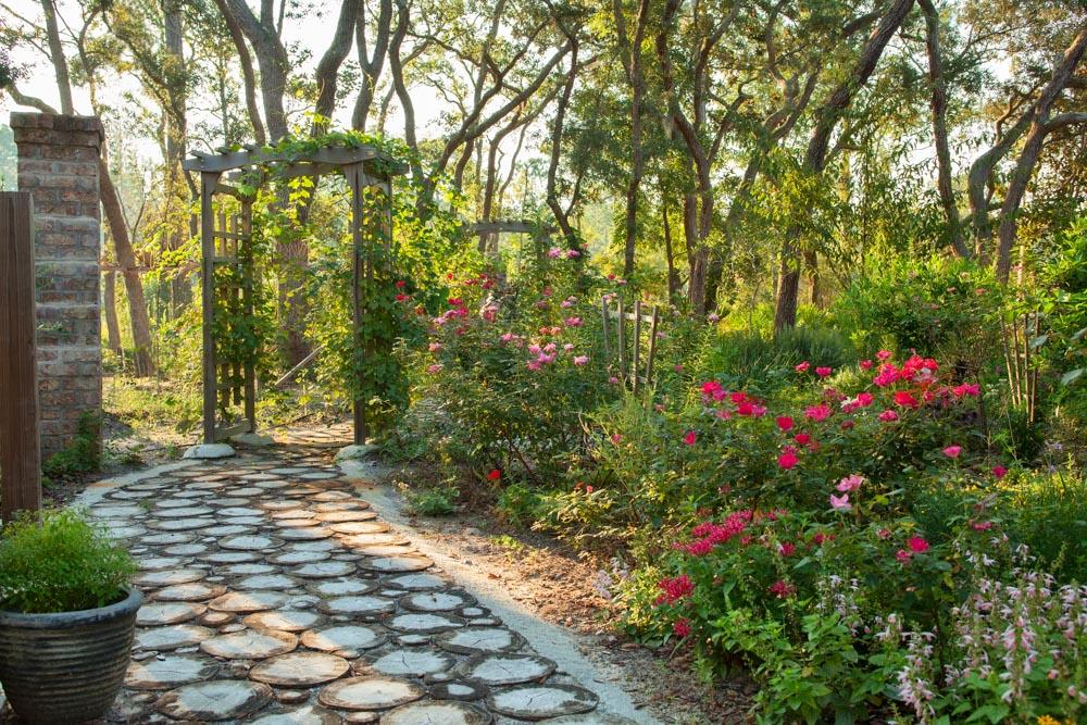 garden pathway at east of eden