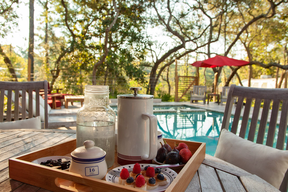breakfast by the pool at east of eden