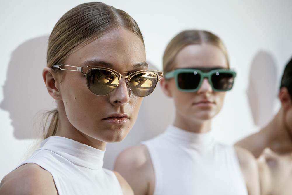 mercedes benz fashion week spring summer 2015 models sunglasses