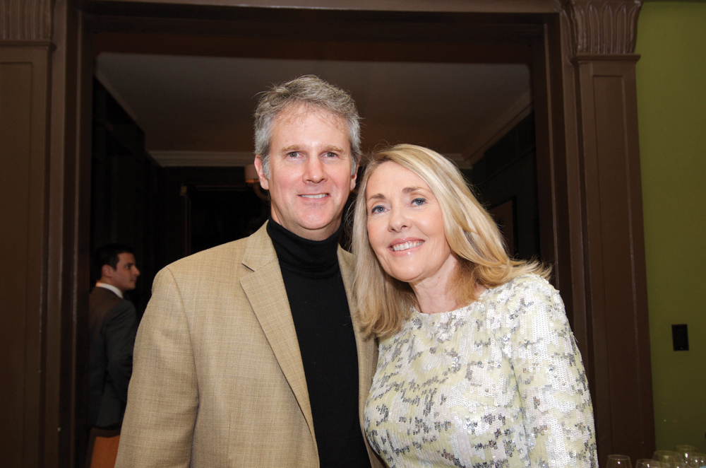 Gerald and Lisa Burwell at the James Beard House in New York City