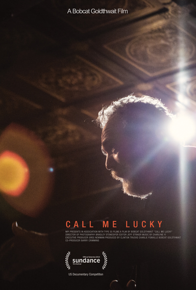 Call me Lucky poster