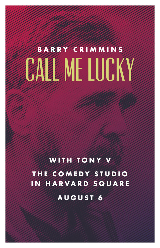 Poster for Call me Lucky movie